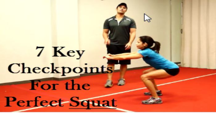 fwfl_blog_7 Key Checkpoints for the Perfect Squat