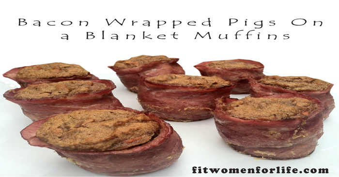 Bacon Wrapped Pigs On a Blanket Muffins_700x366
