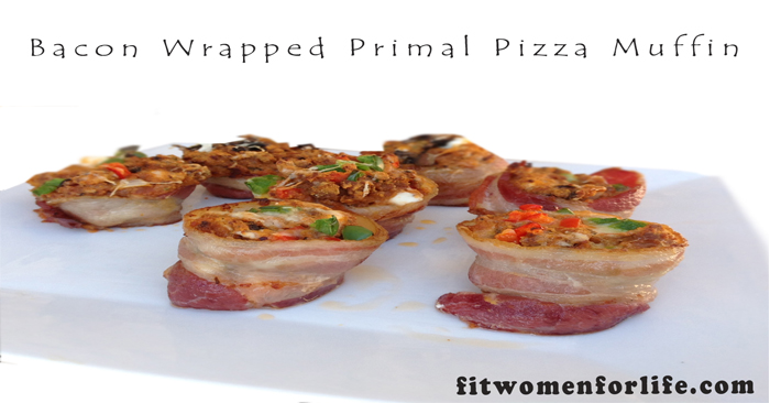 Bacon Wrapped Primal Pizza Muffin_700x366