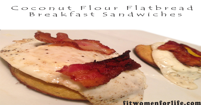 Coconut Flour Flatbread Breakfast Sandwiches_700x366