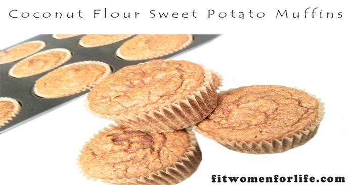 Coconut Flour Sweet Potato Muffins_700x366