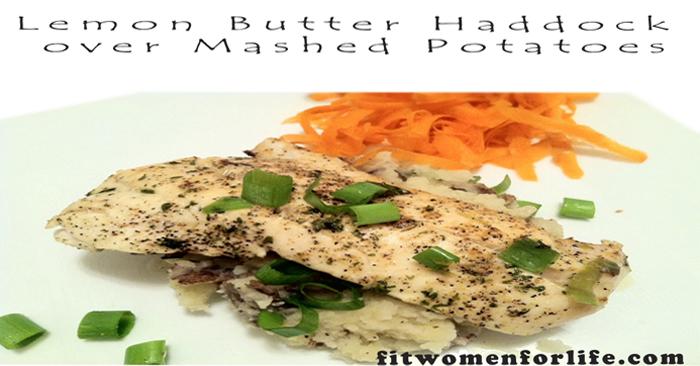 Lemon Butter Haddock over Mashed Potatoes_700x366