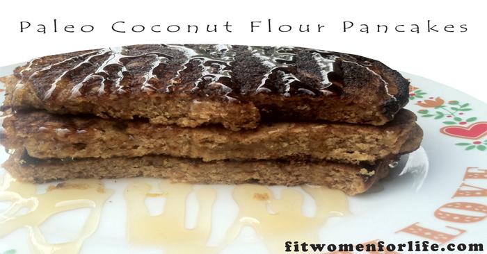 Paleo Coconut Flour Pancakes_700x366