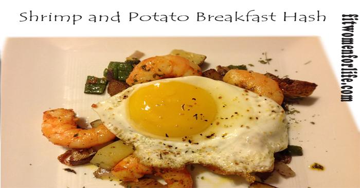 Shrimp and Potato Breakfast Hash_700x366