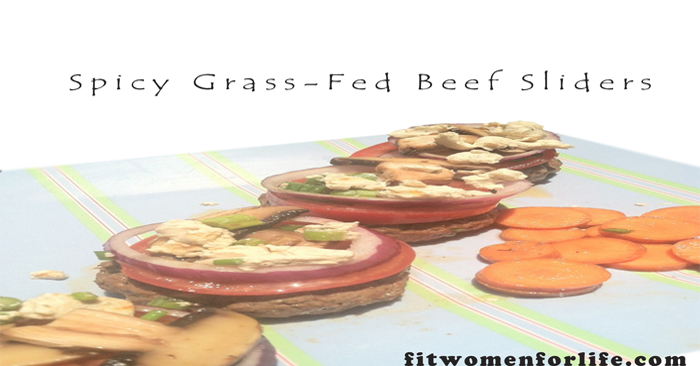 Spicy Grass-Fed Beef Sliders_700x366