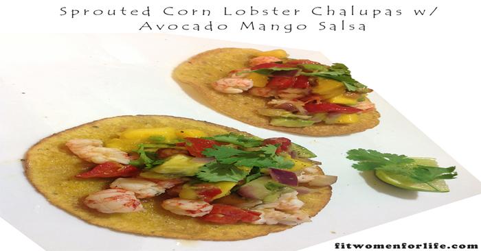 Sprouted-Corn-Lobster-Chalupas-w-Avocado-Mango-Salsa_700x366