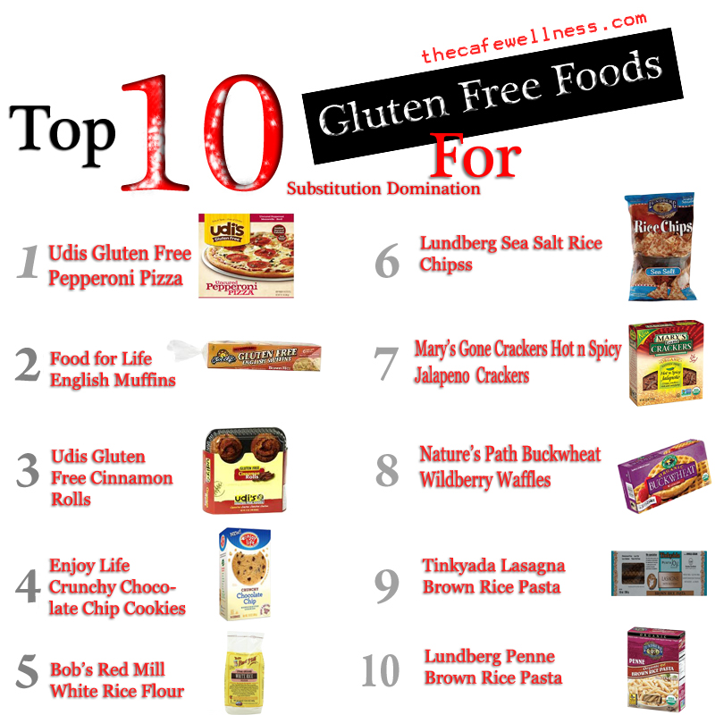 10 MORE Gluten Free Foods for Substitution Domination