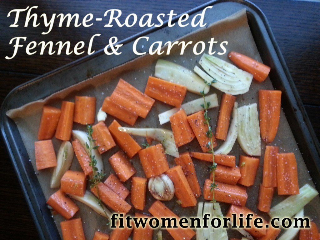 thyme-roasted fennel and carrots_FWFL