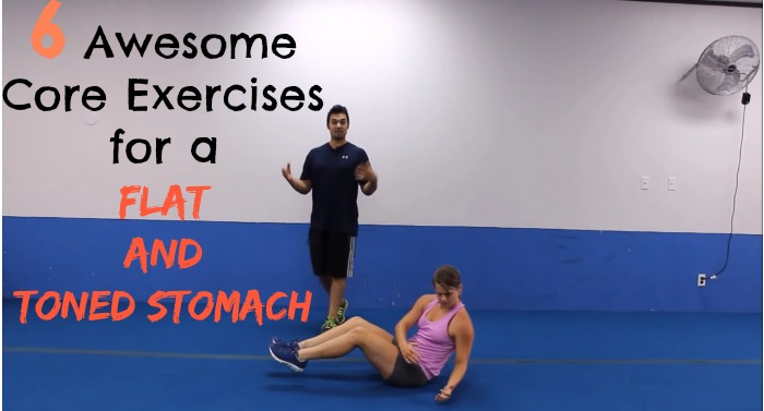 fwfl-video-6 awesome exercises for a flat and toned stomach