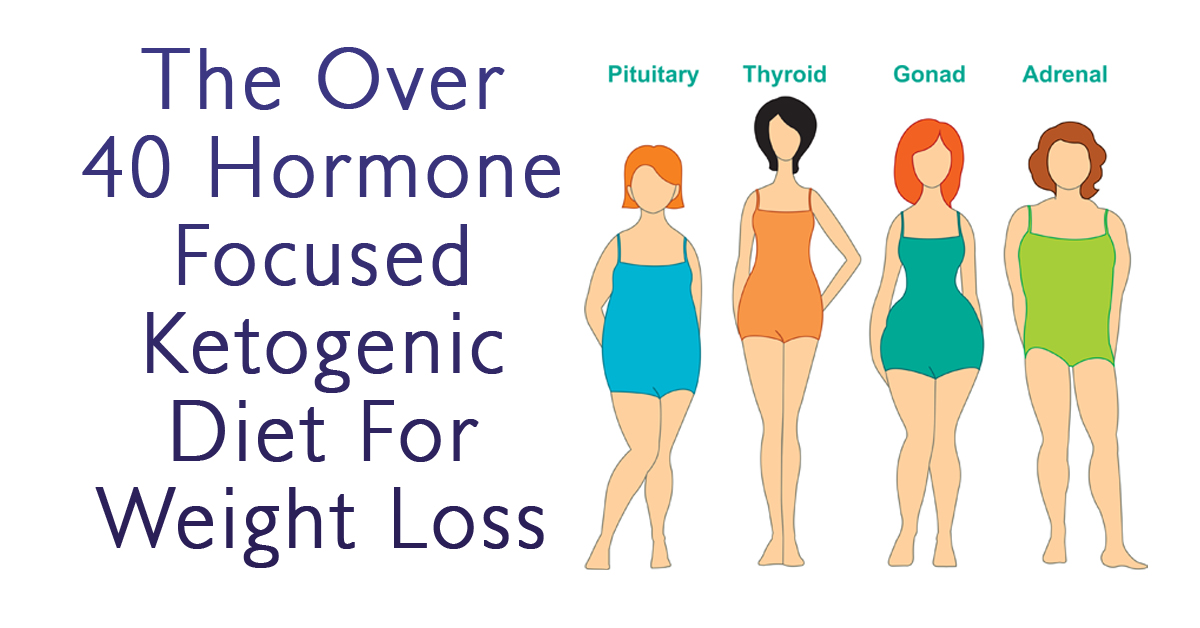 The Over 40 Hormone Focused Ketogenic Diet For Weight Loss