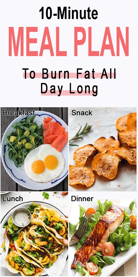 10-Minute Fat-Burning Diet Plan